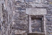 Drumcoltran Tower, Inscribed Lintel