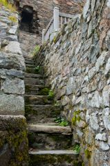 Drumin Castle, Stairs to the hall