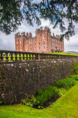 Drumlanrig Castle, The castle from the gardens