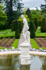 Drummond Castle Gardens, One of the garden fountains