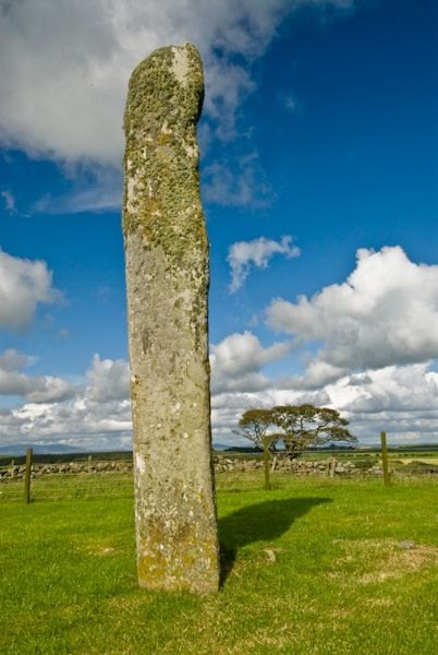 Drumtroddan Standing Stones photo, The north east stone