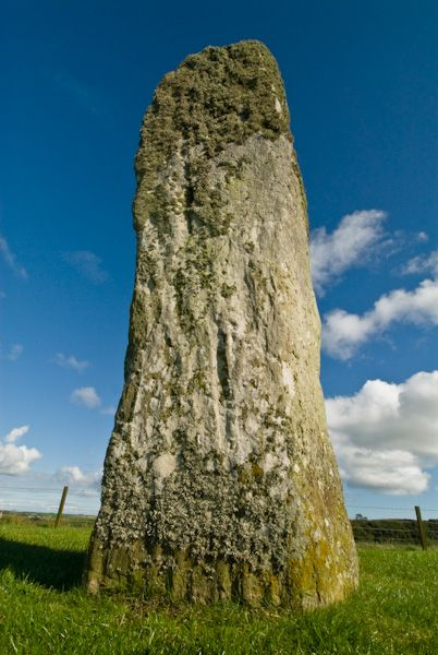 Drumtroddan Standing Stones photo, The north east stone 2