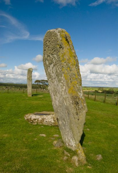 Drumtroddan Standing Stones photo, The south west stone