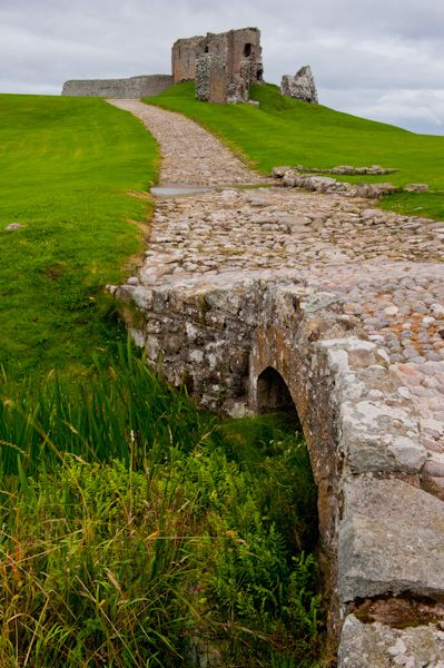 Duffus Castle photo, Medieval bridge