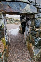The broch entrance