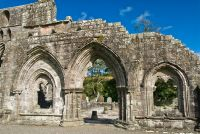 Dundrennan Abbey, Gothic arches