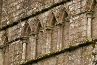 Dundrennan Abbey, Blind arcading