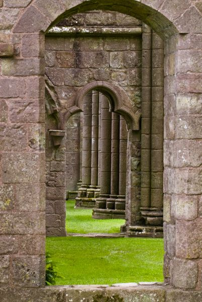 Dundrennan Abbey photo, Abbey church doorways