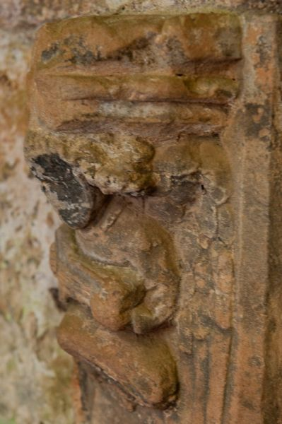 Dunglass Collegiate Church photo, Carved angel