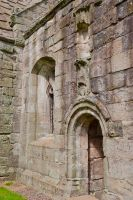 Dunglass Collegiate Church, Arched doorway