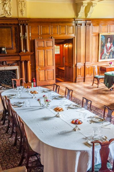 Dunham Massey photo, An informal dininng area
