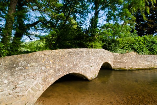 Dunster photo, Gallox packhorse bridge