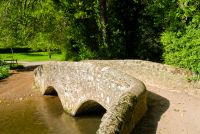 Packhorse bridge at Dunster, Somerset