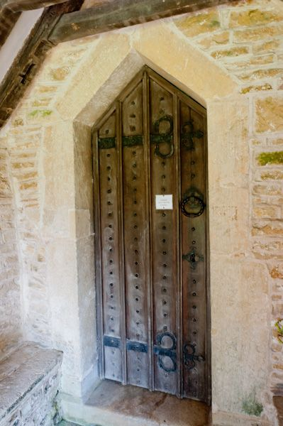 Duntisbourne Rouse, St Michael's Church photo, Norman south door