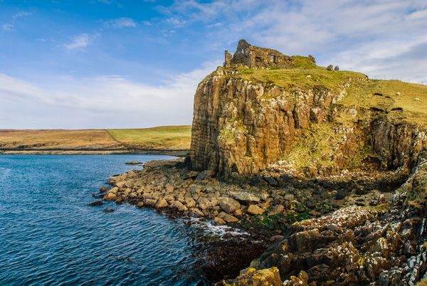 Trotternish Peninsula photo, Duntulm Castle