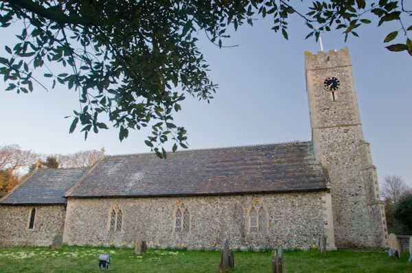 Dunwich photo, St James' church
