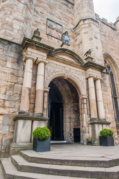 Durham Castle photo, Entrance to the kitchens and hall