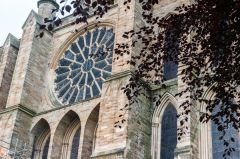 Durham Cathedral, The east rose window