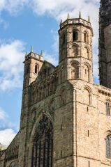 Durham Cathedral, The north transept towers