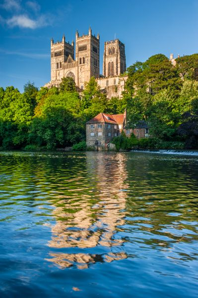 Durham Cathedral photo, The cathedral from the River wear