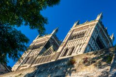 Durham Cathedral, The twin west towers