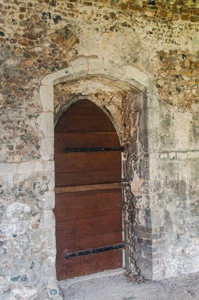 Duxford Chapel photo, 14th century south doorway