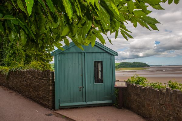 Dylan Thomas Boat House photo, The Writing Shed (Garage)