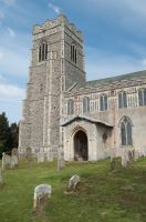 Earl Stonham, St Mary's Church, Exterior view