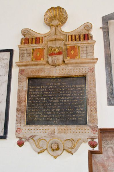 East Bergholt, St Mary's Church photo, William Jones memorial