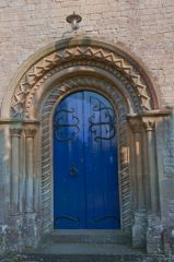 East Grafton, St Nicholas Church, West door