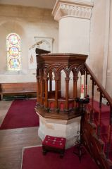 East Grafton, St Nicholas Church, Pulpit