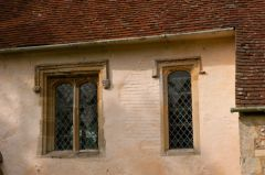 Perpendicular windows, south wall