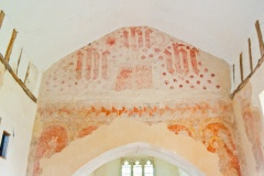 Medieval wall paintings, East shefford