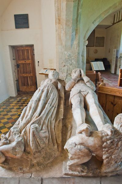 East Shefford, St Thomas' Church photo, Fettiplace effigies