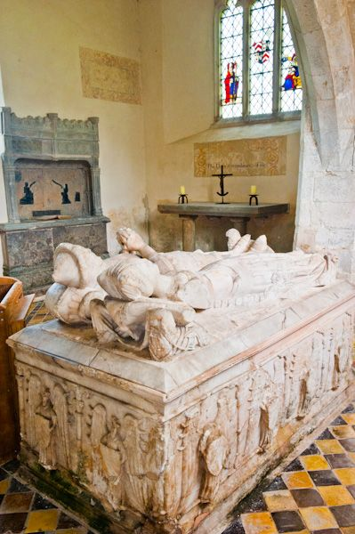 East Shefford, St Thomas' Church photo, Alabaster Fettiplace monument