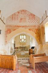 Nave and chancel arch wall paintings