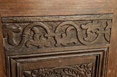 Eastleach Turville, St Andrew's Church, Pulpit date panel