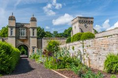 The walled garden entrance tower