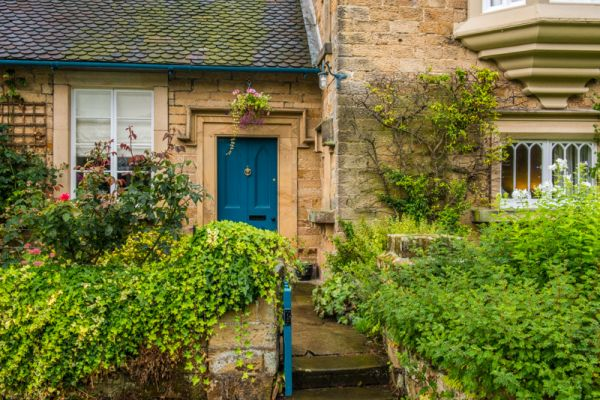 Edensor photo, Another pretty cottage near the church