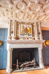 Edinburgh Castle, Fireplace in the Royal Apartments