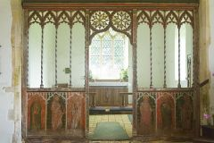 Medieval chancel screen