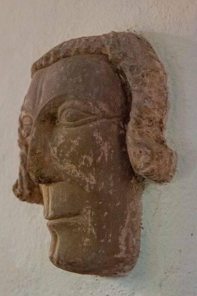 Edwyn Ralph, St Michael Church photo, Medieval carved head
