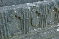 Egglestone Abbey, Detail of Bowes tomb