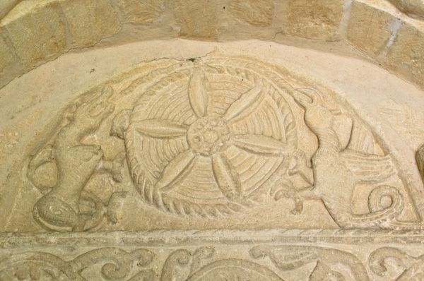 Egleton, St Edmund's Church photo, Tympanum 2