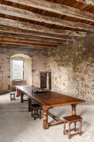 Elcho Castle photo, The Great Hall