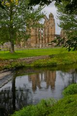 Elgin Cathedral, The view across the River Lossie