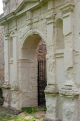 Ruined archway, Hillersden Mansion