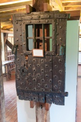 Bunyan's cell door