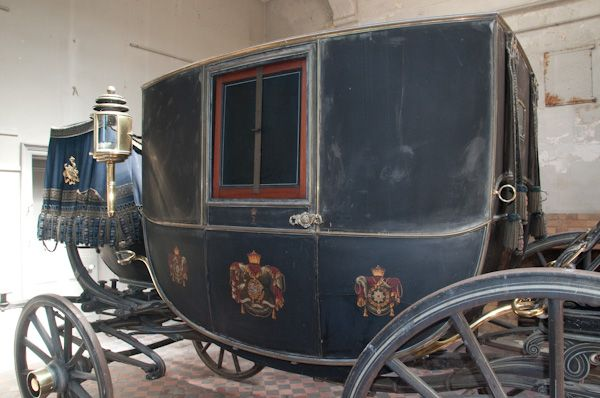 Elton Hall photo, The 5th Earl's state coach