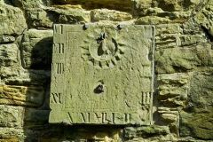 17th century sundial over south porch